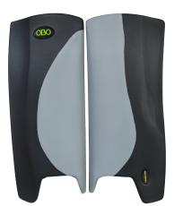 Koop Obo Robo legguards Hi-rebound zwart/grijs online