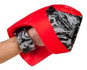 Obo Robo handprotectoren Hi-rebound PLUS right rood koop online